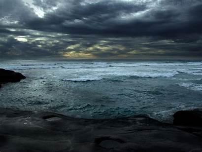 Beach Wallpapers Nature Beaches Dark Muriwai Sea
