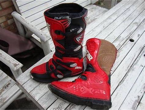 oxtar motocross boots offroad boots oxtar dunes motocross boots red was