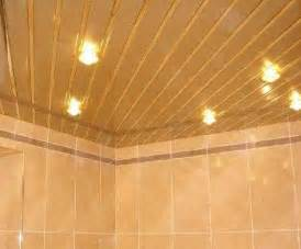 Ceiling Ideas For Bathroom - metal ceiling designs for modern bathroom and kitchen interiors