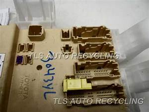 2011 Scion Tc Fuse Box