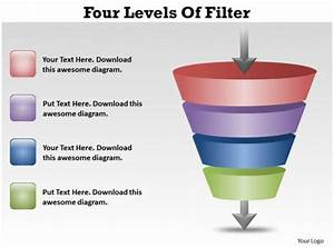 Four Levels Of Filter Ppt Slides Presentation Diagrams Templates