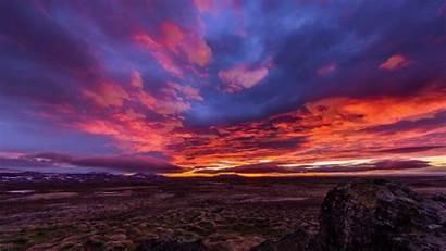 Landscape Fire Gifs Paisajes Landscapes Land Iceland