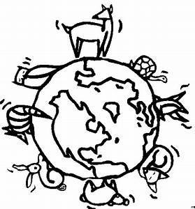 Tiere Unter Der Erde : erde mit tieren ausmalbild malvorlage sonne mond und sterne ~ Frokenaadalensverden.com Haus und Dekorationen