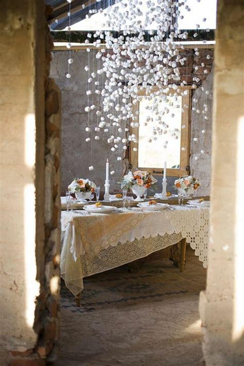 la decoration salle de mariage comment economiser de largent