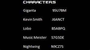 Lego Batman 3 Beyond Gotham Cheat Codes 20 Character U0026 5