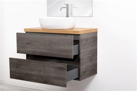 lavello bagno sospeso mobile bagno sospeso per lavabo d appoggio 80cm rover