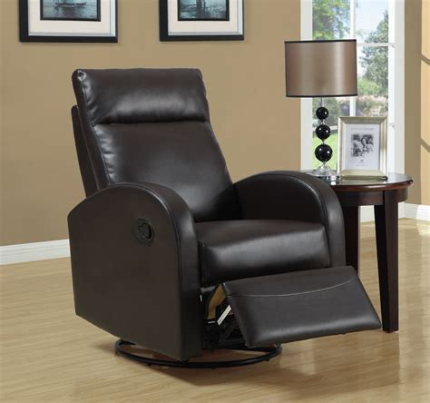 modern recliner chair  leather material traba homes