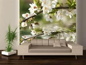 wohnzimmer len leinwand wohnzimmer weisse blüten elvenbride