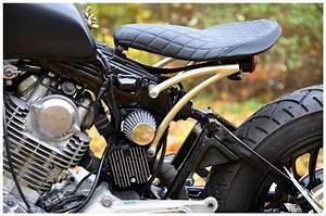 Yamaha Xv750 Becomes Black Mat Ed