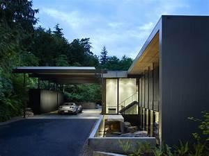 Modern carport design ideas landscape with strap