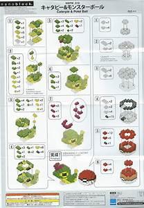Let U0026 39 S Talk It Out  Pokemon Nanoblock Instruction Sheet