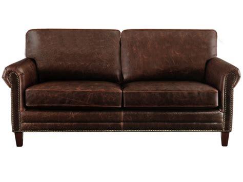 canap 233 s et fauteuils en cuir vieilli chocolat