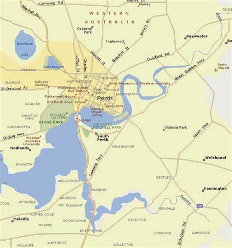 maps  perth