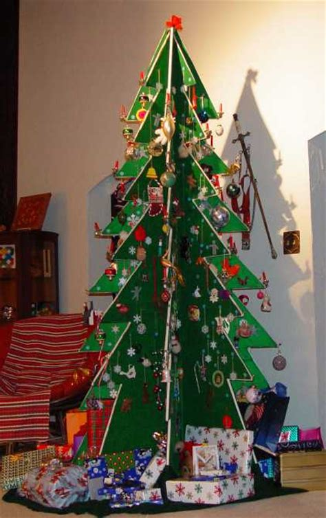 creative diy alternative christmas trees