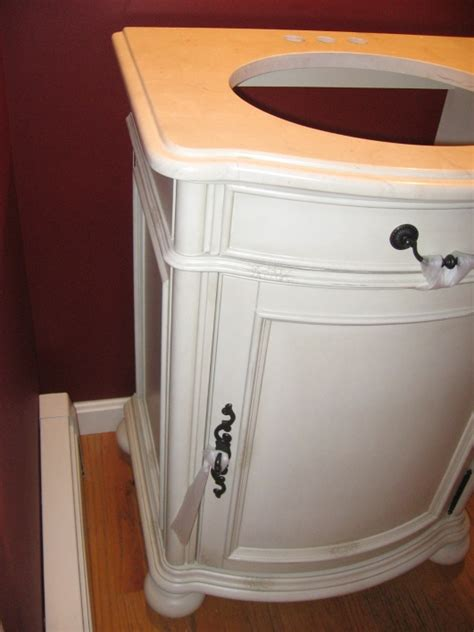 bathroom vanity flush  wall remodeling diy