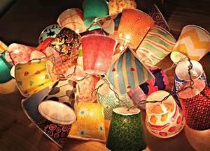 Mini Fabric Lamps Honest to Nod