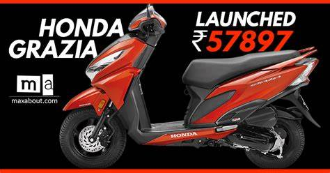 Firsttime Of Its Kind Launched For Indians Honda Grazia Launched In Asian