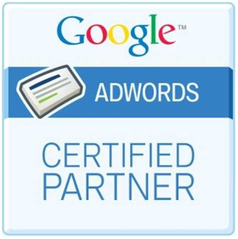 Adwords Certification by Out With The In With The New Partners