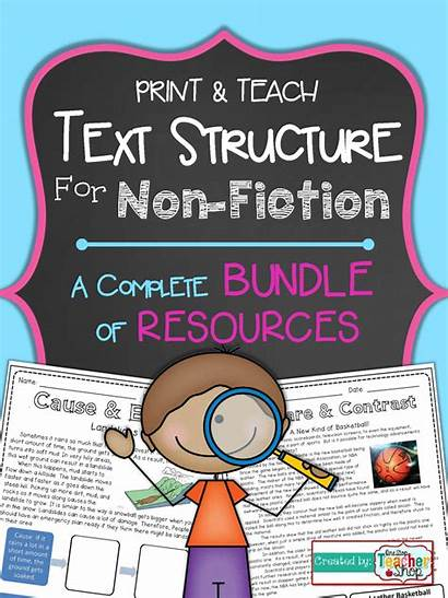 Text Nonfiction Structure Grade Structures Reading Teaching