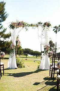 25 Best Ideas About Outdoor Wedding Altars On Pinterest
