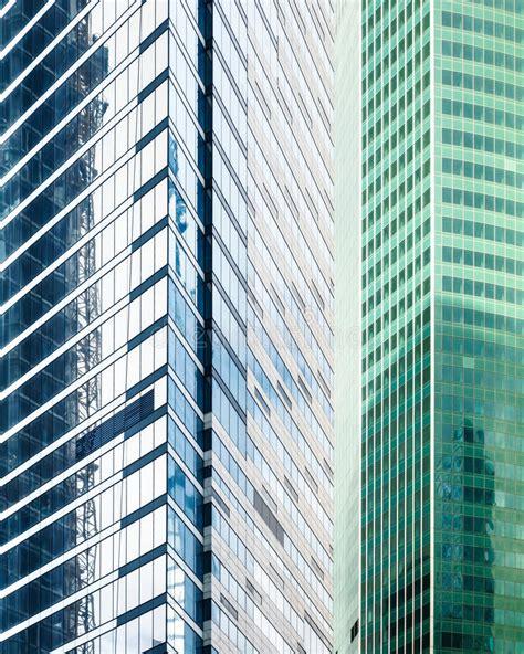 edifici per uffici edifici per uffici contemporanei fotografia stock