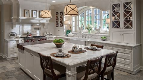 white  warm classic traditional kitchen drury design