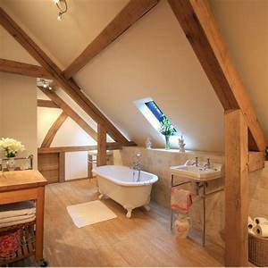 Attic bathrooms ideal home for Bathroom in middle of house