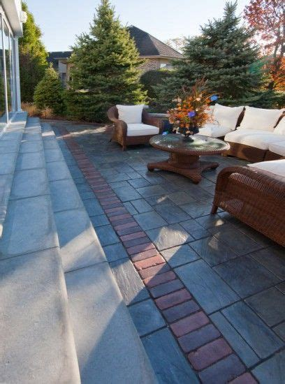 unilock richcliff unilock richcliff paver patio with copthorne accent by
