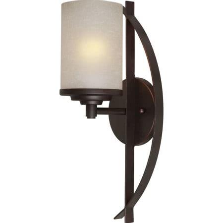 forte lighting 2554 01 32 bronze 1 light wall