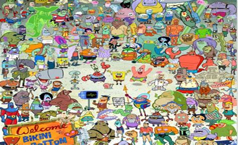List Of Charactersmain  Spongebob And The O'jays