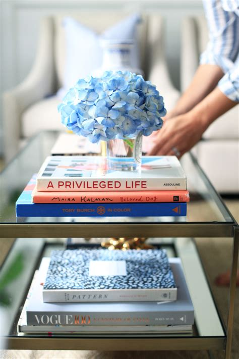 Decorating with Coffee Table Books
