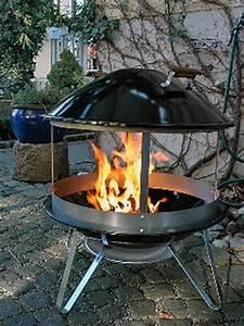 Feuerstelle Für Terrasse : weber fireplace die feuerstelle f r die terrasse grill report ~ Frokenaadalensverden.com Haus und Dekorationen