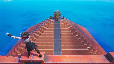 escape pyramid impossible creative fortnite map codes king