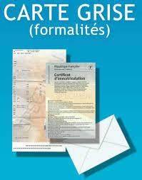 Carte Grise Etrangere : les formalit s de demande de carte grise certificat de conformit pour carte grise ~ Accommodationitalianriviera.info Avis de Voitures