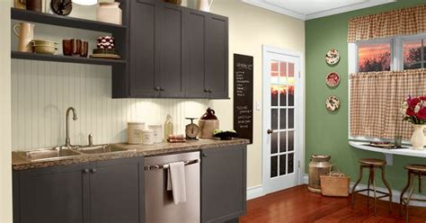 this is the project i created behr i used these colours agave plant m370 5 espresso