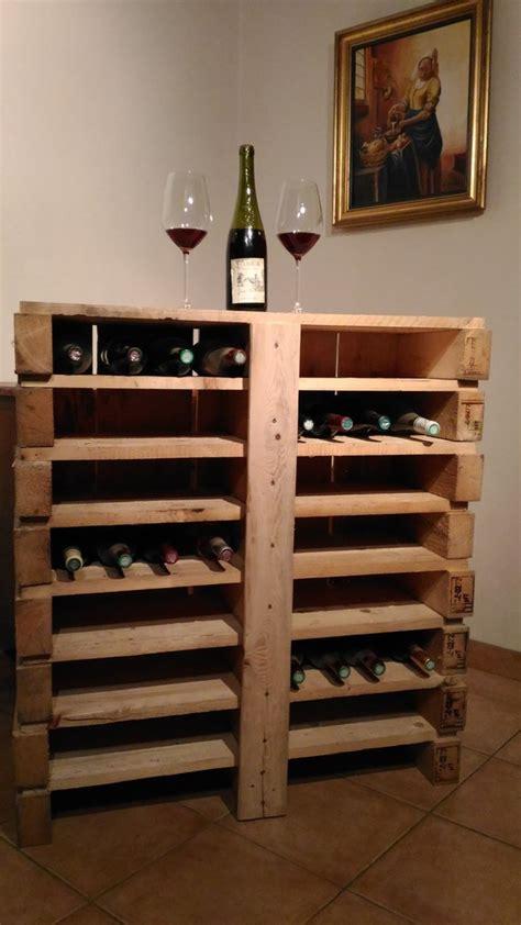 bar 224 vin en bois de palette recycl 233 cr 233 ations en bois