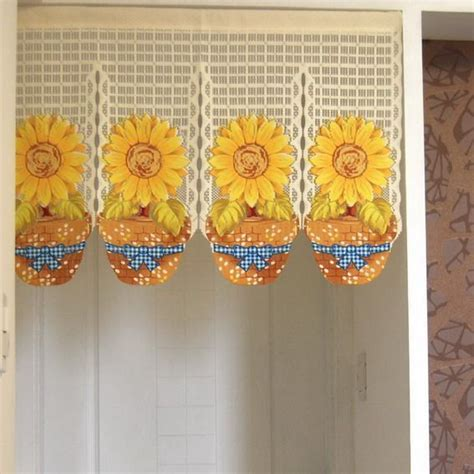 Kitchen Valances Ideas - 10 best images about sunflowers on pinterest home kitchens beaded door curtains and