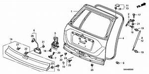 Honda Crv Body Parts Diagram