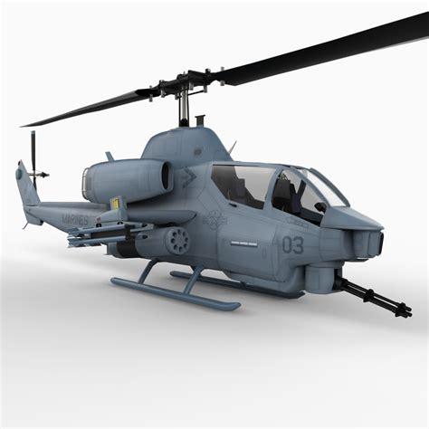 3d Model Super Cob Attack Helicopter
