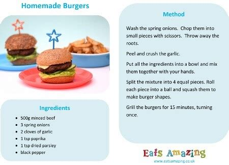 easy homemade burgers recipe