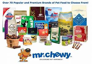 closed review and giveaway mr chewy online pet With dog food brands list