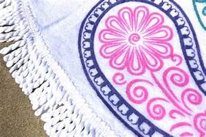 Serviette De Plage Ronde Eponge : serviette de plage ronde t 2017 tendances du monde ~ Teatrodelosmanantiales.com Idées de Décoration