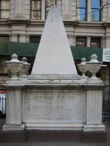Alexander Hamilton Grave Trinity Church