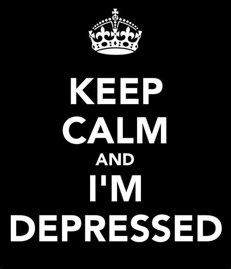 calm  im depressed poster adrian  calm