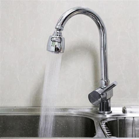 rotatable aerator water bubbler swivel head saving tap