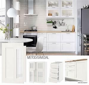 Modeles Cuisine Ikea : cuisines ikea guide des mod les du syst me metod ~ Dallasstarsshop.com Idées de Décoration