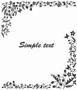 Cadre Noir Et Blanc : cadre noir et blanc simple illustration de vecteur image du f licitations 41334637 ~ Teatrodelosmanantiales.com Idées de Décoration