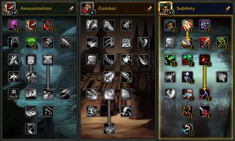 rogue subtlety talent talents combat leveling level dugi guides