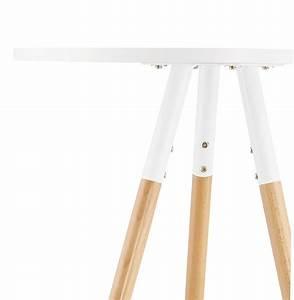 Table Ronde Haute : table haute ronde diamtre 65 cm scandinave eksj ~ Teatrodelosmanantiales.com Idées de Décoration