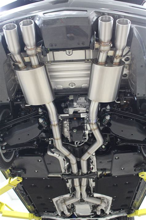 cadillac ats  exhaust system
